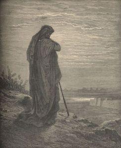 Amos by Gustav Dore.  Public Domain.