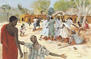 JESUS MAFA. Healing of the ten lepers, from Art in the Christian Tradition, a project of the Vanderbilt Divinity Library, Nashville, TN. http://diglib.library.vanderbilt.edu/act-imagelink.pl?RC=48295 [retrieved October 17, 2013].