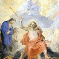 Rubens.  The Last Judgement.  (Detail). Public Domain.