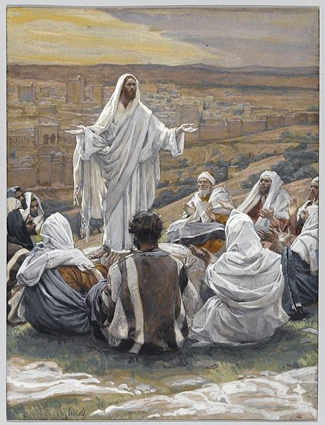 The Lord's Prayer by Tissot.  Public Domain.