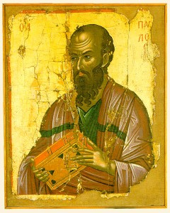 St. Paul Icon, Public Domain.