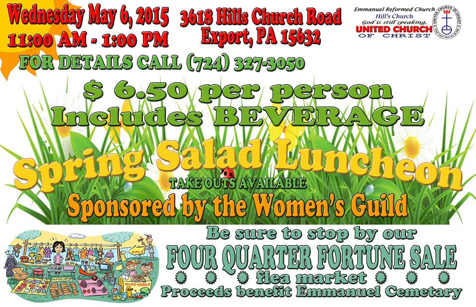 spring salad luncheon