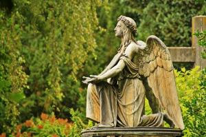Prayer Angel.  Public Domain.