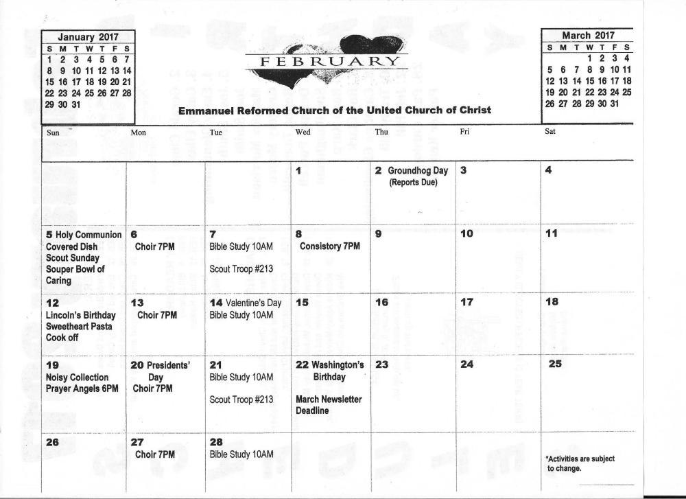 february-2017-calendar