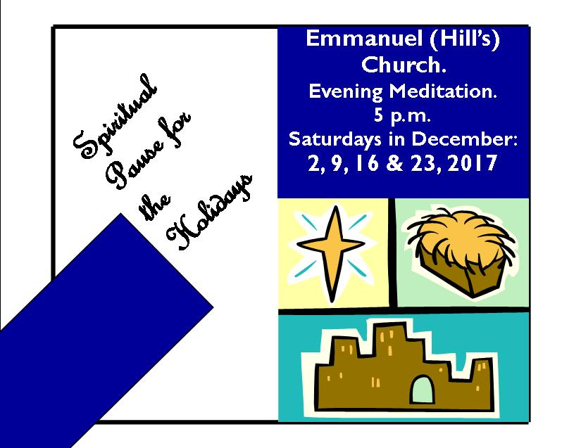 Postcard evening prayer service 2017